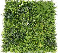 Декоративное покрытие Фитостена с цветком 100х100 см