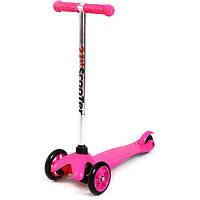 Трехколесный самокат для девочки For Fun BIA180070 Pink (BIA180070P)