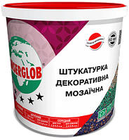 Декоративная мозаичная штукатурка Anserglob для стен  (G. GN.PN.PGN) - 25 кг