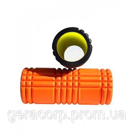 Ролик для йоги LiveUp YOGA ROLLER, LS3768-o, фото 2