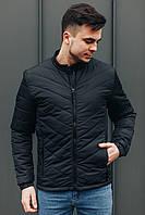 Стильная демисезонная куртка черного цвета  ,Весна/Осень 2020, фото 1