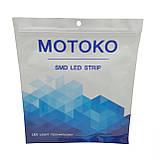 Led стрічка 12В Class A - MOTOKO SMD 3528, 120 діодів, в упаковці 5м стрічки, холодний білий світ 6000К, фото 3