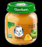 "Пюре GERBER ""Яблуко та груша"" 130 г"
