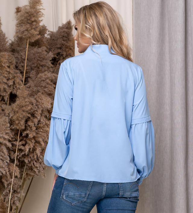 Женская батальная блузка