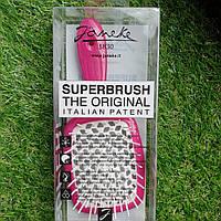 Расческа для волос Janeke Superbrush Pink White