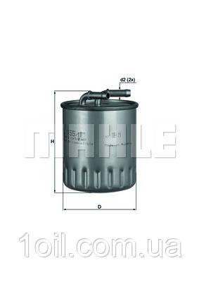 Фильтр топливный KNECHT KL155/1