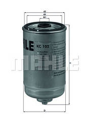 Фильтр топливный KNECHT KC102 (аналог КС66/1)