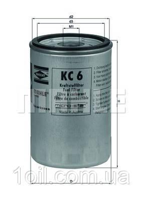 Фильтр топливный KNECHT KC6 (КС24)