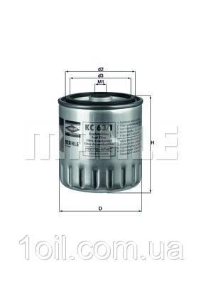 Фильтр топливный KNECHT KC63/1D