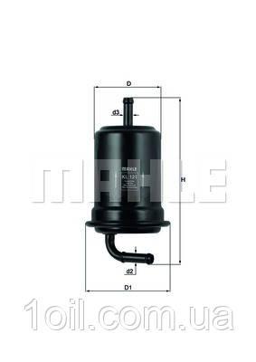 Фильтр топливный KNECHT KL121