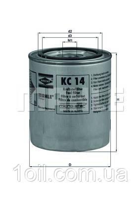 Фильтр топливный KNECHT KC14