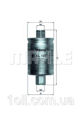 Фильтр топливный KNECHT KL182