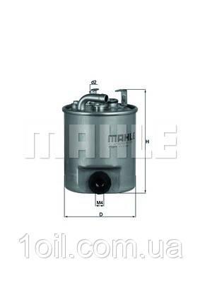 Фильтр топливный KNECHT KL195