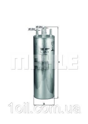Фильтр топливный KNECHT KL229/4