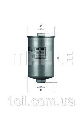 Фильтр топливный KNECHT KL30