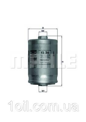 Фильтр топливный KNECHT KL36