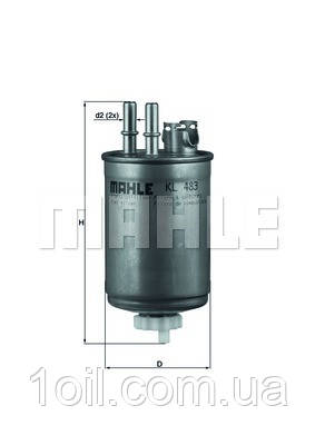 Фильтр топливный KNECHT KL483