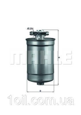 Фильтр топливный KNECHT KL554D