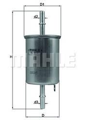 Фільтр паливний KNECHT KL573 (Daewoo)