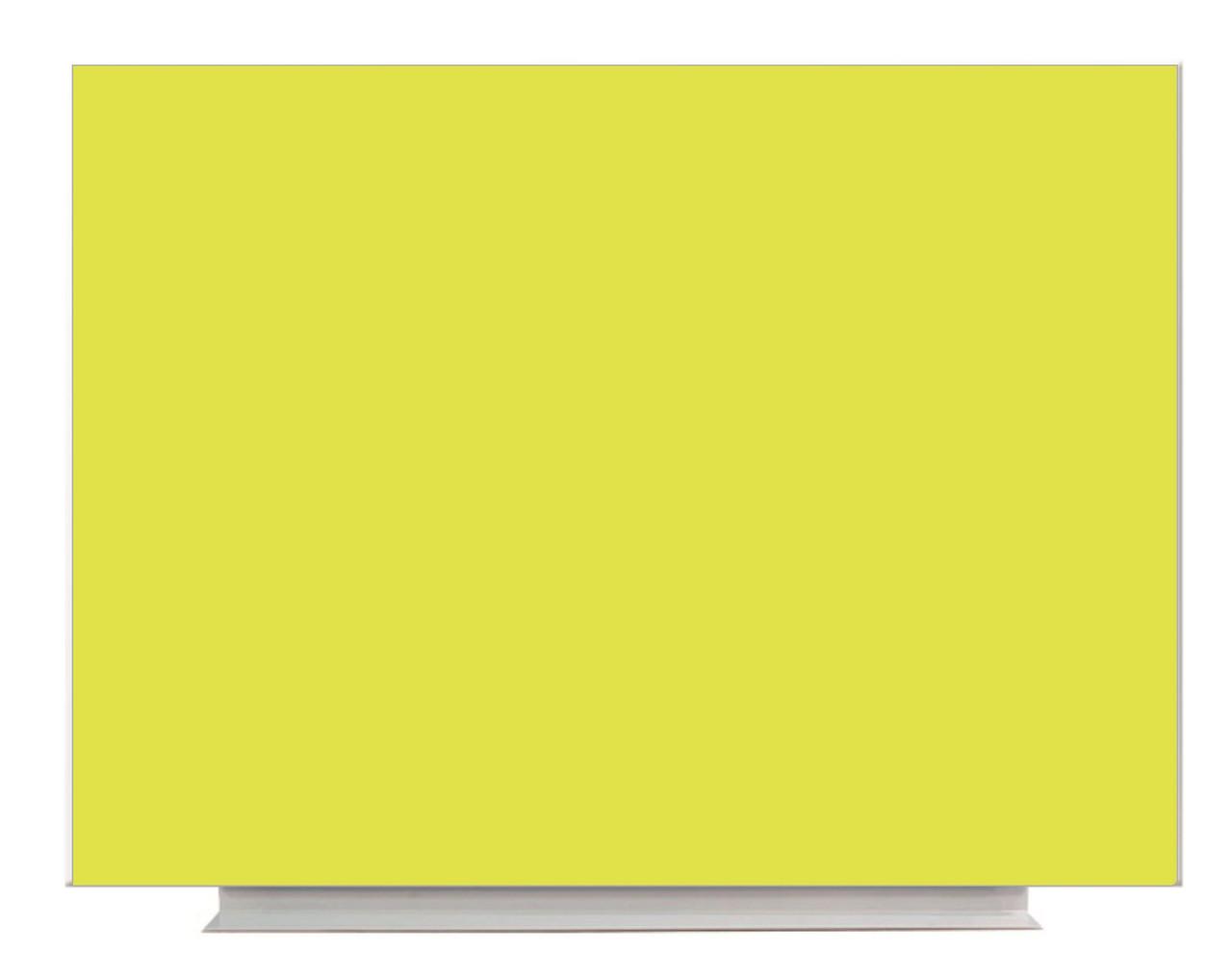 Доска магнитно-маркерная б/р 90x120 Желтый