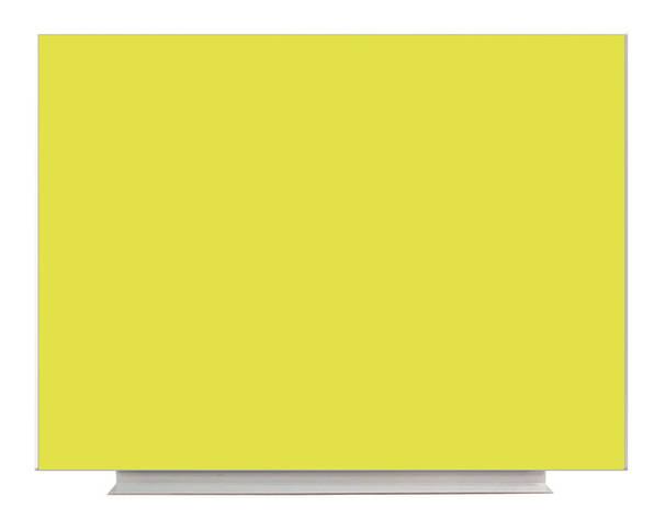 Доска магнитно-маркерная б/р 90x120 Желтый, фото 2
