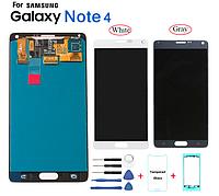 Дисплей Samsung N910H Galaxy Note 4 с сенсорным стеклом (Черный) Оригинал