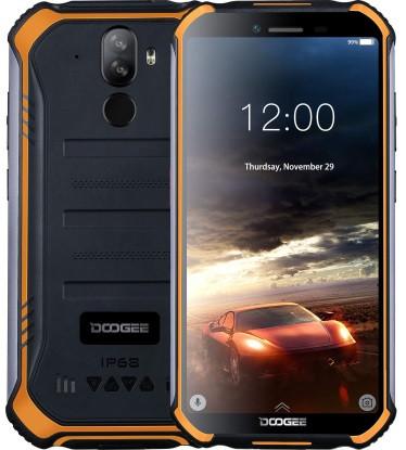 """Смартфон Doogee S40 Lite 2/16GB Orange, IP68, 8+5/5Мп, 4 ядра, 2sim, екран 5.5"""" IPS, 4650mAh, 4G, NFC"""