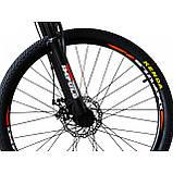 Велосипед Impuls Arrow 26 чёрно красный, фото 2
