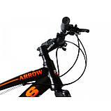 Велосипед Impuls Arrow 26 чёрно красный, фото 3