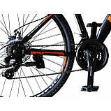 Велосипед Impuls Arrow 26 чёрно красный, фото 4