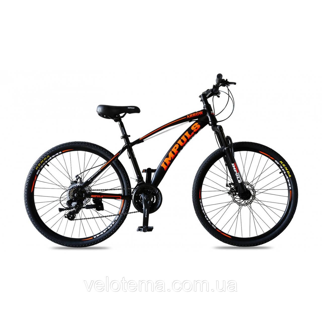 Велосипед Impuls Arrow 26 чёрно красный