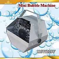 Мини генератор мыльных пузырей City Light CS-I008R MINI BUBBLE MACHINE с ДУ