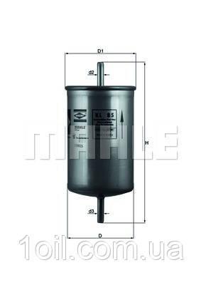 Фильтр топливный KNECHT KL85