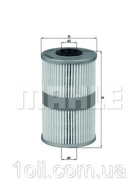 Фильтр топливный KNECHT KX204D
