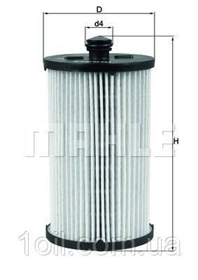 Фильтр топливный KNECHT KX222D
