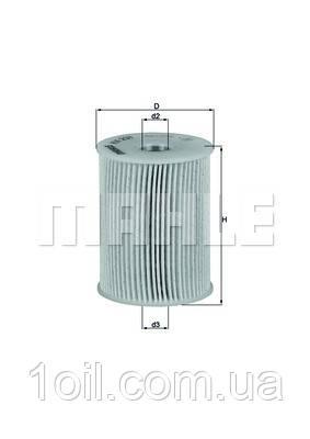Фильтр топливный KNECHT KX231D