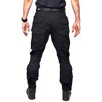 Тактические штаны Lesko B603 Black 36 размер брюки мужские милитари камуфляжные с карманами, фото 3