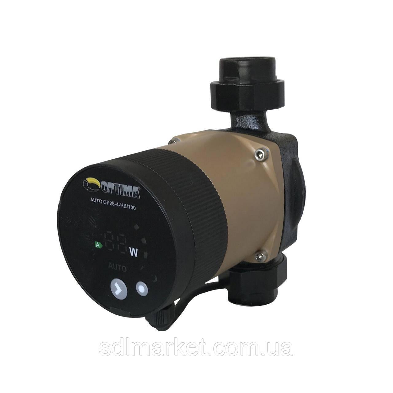 Насос циркуляційний енергозберігаючий Optima OP25-40 AUTO 130 мм