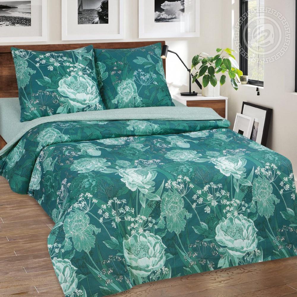 Постельное белье Калипсо поплин  ТМ  Комфорт-текстиль  (Семейный)