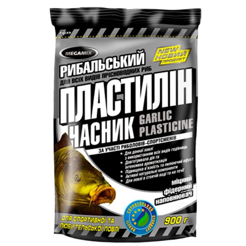 Рыболовный пластилин MEGAMIX Чеснок 250 гр