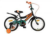 """Велосипед 16"""" Formula RACE 2020 (чорно-помаранчевий з бірюзовим (м))"""