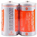 Батарейка R14 C HYUNDAI С, 1.5В батарея, фото 2