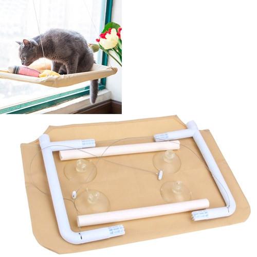 Гамак лежак на окно оконный для кота котов лежанка до 15кг