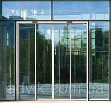 Телескопические автоматические раздвижные двери Geze Slimdrive SLT (Германия)*