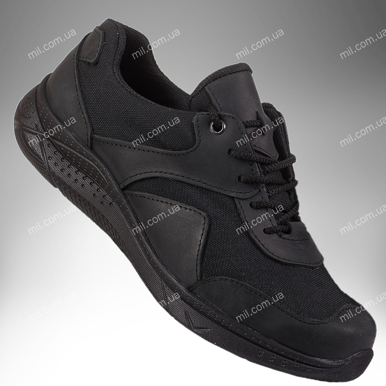 Военные демисезонные кроссовки / тактическая обувь, армейская спецобувь GENESIS (black)