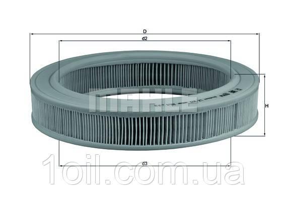 Фильтр воздушный KNECHT LX203