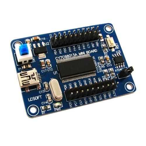 Отладочная плата, логический анализатор CY7C68013A EZ-USB