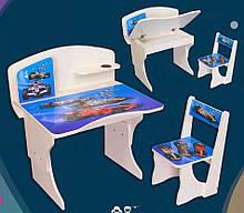 """Детская парта со стулом """"Формула"""" регулируемая по высоте от 2 до 8 лет."""