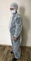 Комбинезон защитный, одноразовый костюм плотность 30 г/м.кв.