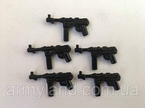 MP 40, оружие для минифигурок 5шт, конструктор аналог Lego,BrickArms, фото 2